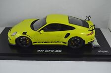 SPARK 1:18 SCALE PORSCHE 911 GT3 RS - GREEN - LIMITED EDITION