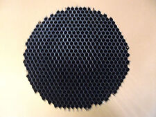 """Alum Honeycomb Grid Disk (Air Flow Straightener) 1/4 Cell, 15.750"""" Dia, T=6.0"""""""