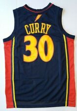 NEW Rare Steph Curry Jersey - Men's Golden State Rookie Blue # 30 Classic NWT