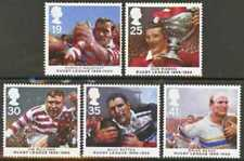 Gb Mnh Scott 1629-1633, 1995 Rugby League Cent. st of 5
