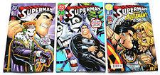 DC | SUPERMAN | Nr. 6, 7, 8 | Panini Comics | 2001 | Z1-2 | PB1195