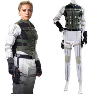 The Black Widow Yelena Belova Cosplay Outfit Halloween Costume Uniform