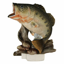 River's Edge Products Night Light with Sensor - 3D Bass