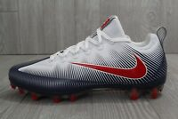 27 Nike Vapor Untouchable Pro Football Cleats White Blue Red SZ 10 12 839924-419