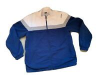 Vtg Reebok Tracksuit Top Sorts Top Casual Hipster Blogger 1990s Retro Shell Styl