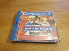 Dead or Alive 2 SEGA DREAMCAST PAL DC OVP completamente