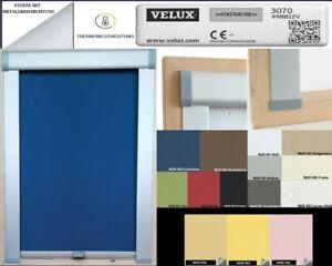 Sichtschutzrollo Rollo f/ür Velux RG-EP VK,VE,VS 045 schwarz
