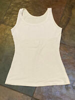 0421 Maidenform Ivory Med Ready to Wear Shape Control Cami #1276  B