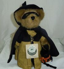 Endora Spellbound Boyds Bears 11in Halloween Witch teddy bear with cat 81004