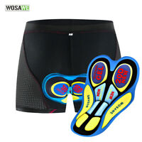 20D Gel Cycling Underpants Padded Mens MTB Mountain Bike Riding Shorts Underwear