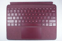 USED Microsoft - Surface Go Signature Type Cover (KCS-00041) - Burgundy READ