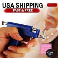 Pro Ear Piercing Gun with 98pcs Studs Kit Tool Set Ear Nose Navel Body Piercing