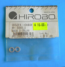 Hirobo® Spare Parts ~ 5 x 8 x 1.5 Collar ~ 2521-049 ~ New In Original Packaging