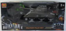 MILITARY WARRIOR MISSION TANK VEHICLE w/ ACCESSORIES DETAILED FOR GI JOE FIGURES