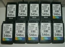 More details for canon empty ink cartridges xl 545 546 x 10