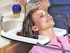 Hair Medical Rinse Washing Tray Shampoo Salon Bowl Beauty Portable Sink Neck NEW