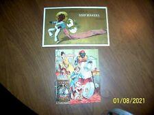 Antique Lot Of 2 Black Memorabilia Trade Cards Kirk Soap Chicago & Excelsior Met