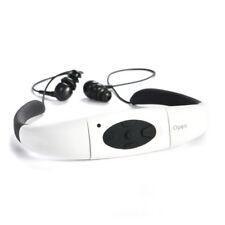 IPX8 4GB MP3/FM Reproductor Sumergible Acuatico de Natación Auriculares Cascos