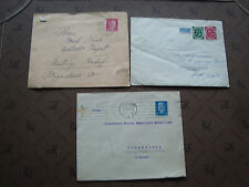 ALLEMAGNE - 3 enveloppes (cy80) germany