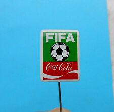 FIFA WORLD CUP ... COCA-COLA .. old rare sponsor pin badge football anstecknadel