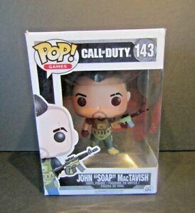 John Soap Mctavish Call Of Duty Funko Pop Vinyl Games #143 COD Mactavish