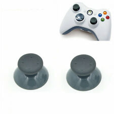 2x  Replacement Gray Analog Thumbsticks for Xbox 360 Controller Grip Stick Parts
