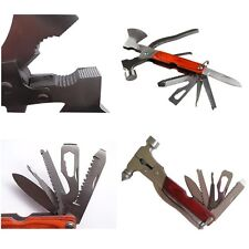 Multi Function Hammer AXE AX Pliers Knife Screwdriver Folding Tools Set Hot Sale