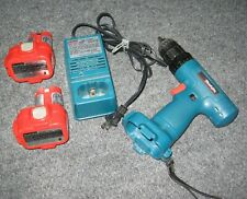 Makita 6222D Cordless Drill 9.6v 2 Batteries 1 Charger bundle Tested READ Tool