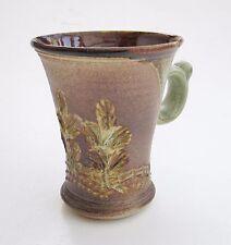 Stoneware Tea Coffee Mug Rustic Woodland BA Handmade Steve Woodhead Ceramics