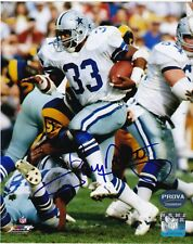 TONY DORSETT  DALLAS COWBOYS   PROVA AUTHENTICATED  ACTION SIGNED 8x10