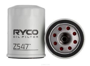 Ryco Oil Filter Z547 fits Honda Accord Euro 2.4 (CL9), 2.4 (CU), 3.5 V6 (CU)