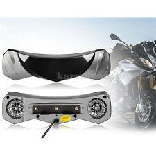 Waterproof Motorcycle Audio Radio Sound System Stereo Speakers Hightlight TF/USB
