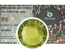 HOTFIX, 1440 Preciosa Genuine Czech Crystals 16ss Olivine Viva Iron-on, 4mm ss16