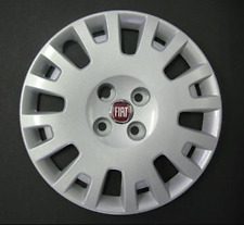 "Suitable For Fiat Fiorino 15""  Wheel Trim Hub Cap Cover  FIT 744AT  Red"