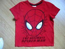 MARVEL T.Shirt MC rouge Spiderman T.4 ans -TBE