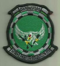 STRIKE FIGHTER SQDN 195 U.S.NAVY PATCH DAMBUSTERS AIRCRAFT PILOT SAILOR USA FLY