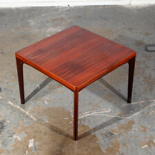Mid Century Danish Modern Side Table End Vieje Stole Rosewood Kjaernulf Square M