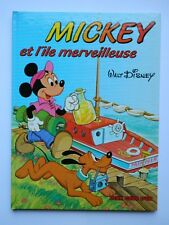 MICKEY et l'Ile Merveilleuse - WALT DISNEY - DEUX COQS D'OR - 1980 - RARE