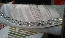 New Sparkling Rhinestone Party Bridal Evening Clutch Bag Silver