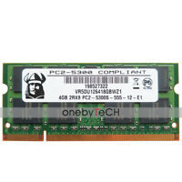 New 4GB 2RX8 PC2-5300s DDR2-667 200 pin CL5 SODIMM SDRAM Memory Notebook Module