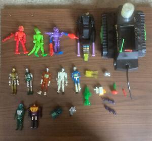 Vintage 1978 Mego Micronauts Lot Membros, Repto, Time Traveler, Action Figures +