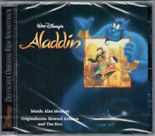ALADDIN German Deutsche Version OST CD ALAN MENKEN Tim Rice Howard Ashman Disney