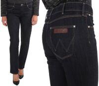 Wrangler Damen Jeanshose Drew Darkest Rinse Marineblau W26 - W29