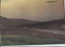 N°10001 /  catalogue CHRYSLER gamme august 1975
