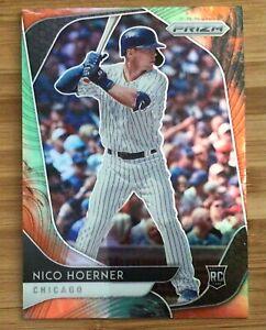 2020 Prizm Nico Hoerner Cosmic Haze Parallel Rookie Card🔥CUBS