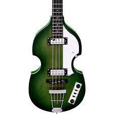 Hofner Igntion LTD Violin Electric Bass Guitar 70's Green LN