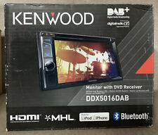 """Kenwood DDX5016DAB Double Din 6.2"""" Bluetooth DAB Car Radio DVD CD MP3 EX-DEMO"""