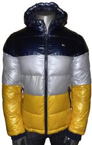 NWT! Tommy Hilfiger Ultra Loft Color Block Puffer Full Zip Men's Medium Jacket