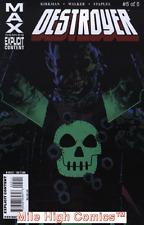 DESTROYER (2009 Series)  (MARVEL MAX) #5 Near Mint Comics Book
