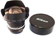 Nikon NIKKOR 15mm f / 3.5 AI-S Ultra Wide Angle Lens
